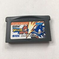 Sonic Battle Nintendo Game Boy Advance Authentic Sonic Knuckles Shadow Japan Ver