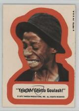 1975 Topps Good Times Stickers #N/A Yeechh! Ghetto Goulash! Non-Sports Card 0c6