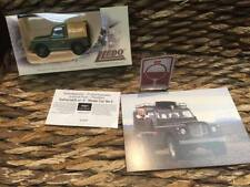 IJSLAND - ISLAND - ICELAND POST (NR.5) with CERTIFICATE -  LANDROVER JEEP