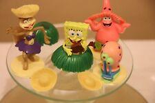 SpongeBob SquarePants Bikini Bottom Game Replacement Pieces Cake Topper Decor