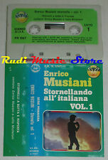 MC ENRICO MUSIANI Stornella vol 1 LISCIO ITALIAN FOLK serie primavera cd lp vhs