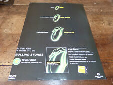 THE ROLLING STONES - FOUR FLICKS!DIF!PUBLICITE / ADVERT
