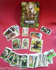 FREIE AUSWAHL UNSER WALD 12 Sticker EDEKA WWF Naturbilder Sammelsticker Biologie