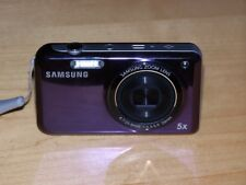 Samsung PL120 DUAL SCREEN 14.2MP Digital Camera - Purple