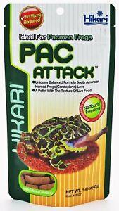 Hikari USA Packman Frog PAC Attack Wet Food 1.41 oz   Free Shipping