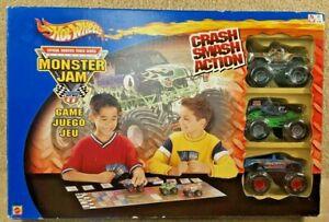 New 2002 Hot Wheels Monster Jam Game Gravedigger He Man Masters of the Universe