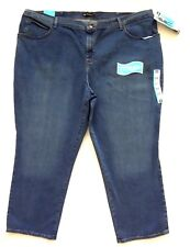 Lee Relaxed Fit Jeans Womens Size 24w Petite Blue Straight Leg