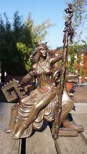 Frigg Gemahlin Des Odin bronziert Figur Sammelfigur