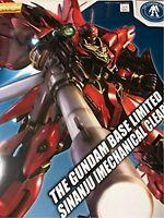MG 1/100 Gundam Base Limited Sinanju [Mechanical Clear] F/S w/Tracking# Japan