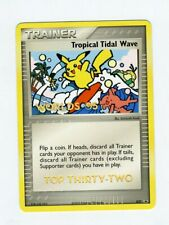 Pokemon 2005 Tropical Tidal Wave TOP 32 Pikachu Worlds Stamp Card Near Mint #27