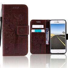 For Apple iPhone 5 5s SE Case Wallet Leather Flip Stand Card Slot Pocket Cover