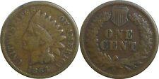 1864 L 1C Indian Head Cent Bronze Fine