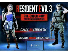 PS4 Resident Evil 3 Remake Pre-Order Bonus: Classic Costume Pack (ONLY, NO GAME)