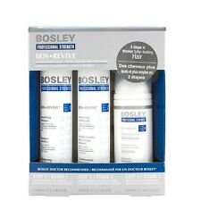 Bosley - Kit Anticaduta Ispessente per Capelli Naturali