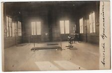 RARE Real Photo Postcard- Concordia College Gym Gymnasium Hawthorne NY 1908 RPPC