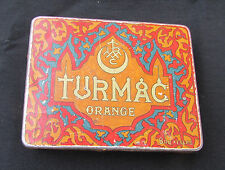 "Ancienne boite fer cigarette "" TURMAC """