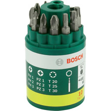 Bosch Bit-Runddose 10-tlg. Bitsatz Bitbox Bitset Bits Bit Schrauberbit-Satz