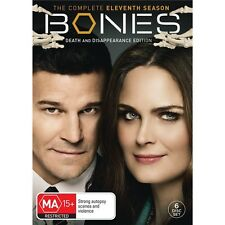 BONES-DVD-Season 11-Region 4-New AND Sealed- 6 DVD Set-TV Series