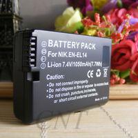 NEW BATTERY FOR NIKON EN-EL14  NIKON D3100 D3200 D5100 P7100 P7700