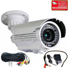 700TVL Security Camera w/ SONY EFFIO CCD Audio Mic IR Night Outdoor Zoom IP66m8w