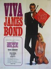 DR NO 70's James Bond 47x63 SEAN CONNERY