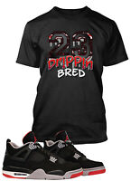 23 BRED Dripping Tee Shirt to Match Retro Air Jordan 13 Shoe Mens Graphic Tee