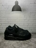 Nike Air Max 90 Triple Black Athletic Shoes Sneakers AJ1285-019 Mens Sz 14