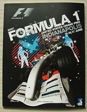 GRAN PREMIO degli Stati Uniti d'America 2007 Indianapolis F1 formula uno programma ufficiale