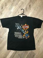 vintage harley davidson 3d emblem t shirt