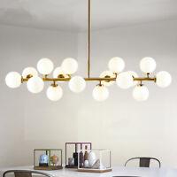 Large Chandelier Lighting Glass Pendant Light Kitchen Lamp Modern Ceiling Lights