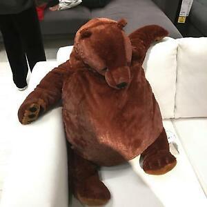 UK Giant Simulation DJUNGELSKOG Bear Toy Brown Teddy Bear Stuffed Animal Toys