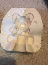 "C-698 sitting bear 4"" Plaster Casting Ceramic Mold"
