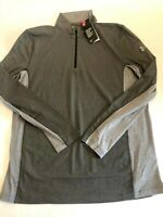 Under Armour New Charged Cotton 1/4 Zip Golf Shirt Men's Large 0661