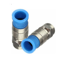 5 pcs RG59 Male F-connector - Compression type, Water-Proof