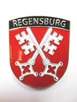 Regensburg Escudo de Ciudad Imán Metal, Recuerdo Germany, Alemania, Nuevo