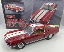 """EXACT DETAIL 1/18 Scale 1968 MUSTANG SHELBY G.T.500 """"VERY RARE & DETAILED"""""""