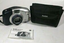 Kodak KB Zoom 35mm Film Camera w/ Strap, Manual, & Soft Case- 28-50mm- Works!