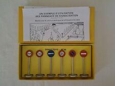 Panneaux de Signalisation Ville 40 - Dinky Toys Atlas