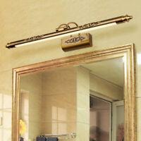 Bilderleuchte Spiegelleuchte Wandleuchte Flur Bilderlampe in Bronze Schalter