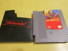 NINTENDO  NES GAME LEGACY OF THE WIZARD WITH DUST COVER