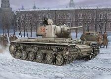 MODEL KIT HBB84814 - Hobbyboss 1:48 - Russian KV-1 lightweight