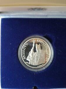 10 EURO Silber-GEDENKMÜNZE VATIKAN 2002 Johannes Paul II.