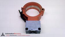 "ROBO-COM 6513 WITH ATTACHED PART 6651, PIPE CLAMP, 4"" INNER DIAMETER, SE #216657"
