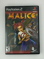 Malice - Playstation 2 PS2 Game - Complete & Tested