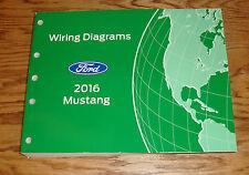 Original 2016 Ford Mustang Wiring Diagrams Manual 16