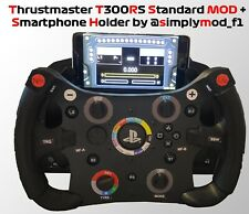 Thrustmaster T300RS to GT3 / Williams F1 Style MOD + Smartphone holder SimplyMOD