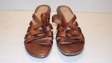 Women's Dansko Bronze Leather Sandals US Size 11.5 - 12 EUR 42