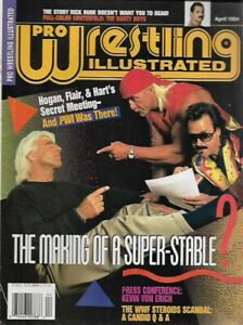 Pro Wrestling Illustrated - April 1994 - Hulk Hogan/Ric Flair Alliance???