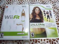 Wii Fit, Jillian Fitness Ultimatum 2009. Nintendo Wii Games Fitness