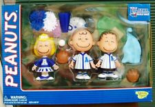 Peanuts Baseball All Star - Deluxe Blue Playset - Charlie Brown - Linus & Sally